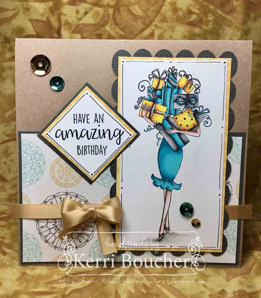 Bellarific Friday OCT. 14, 2016-GIFTABELLA rubber stamp