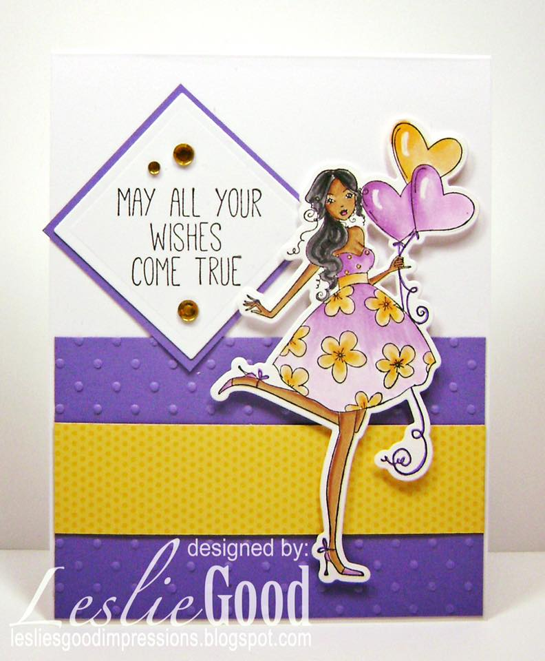Bellarific Friday OCT. 14, 2016- Balloonabella rubber stamp and CUT IT OUT DIE bundle