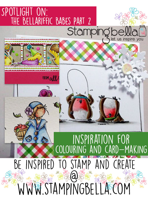 Stamping Bella Spotlight On The Bellariffic Babes Part 2. Click through for inspiration from the team!
