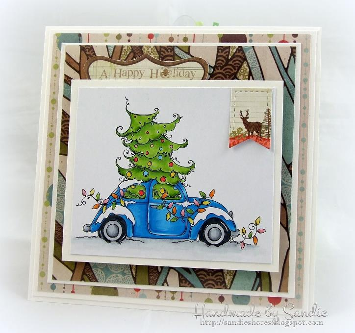 Bellarific Friday NOVEMBER 18th on Stamping Bella Blog-CHRISTMAS BUG RUBBER STAMP