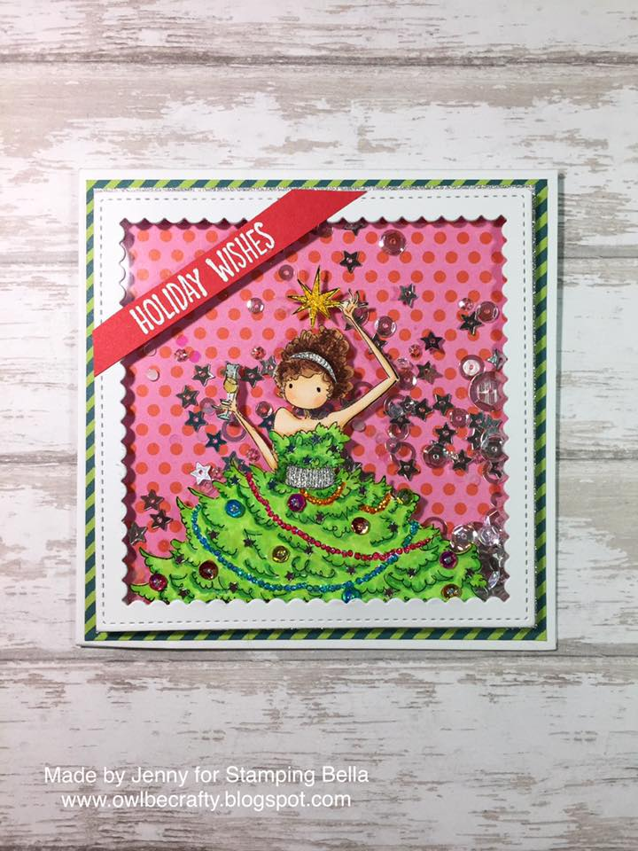 Bellarific Friday NOVEMBER 18th on Stamping Bella Blog-UPTOWN GIRL SAVANNAH has a STAR