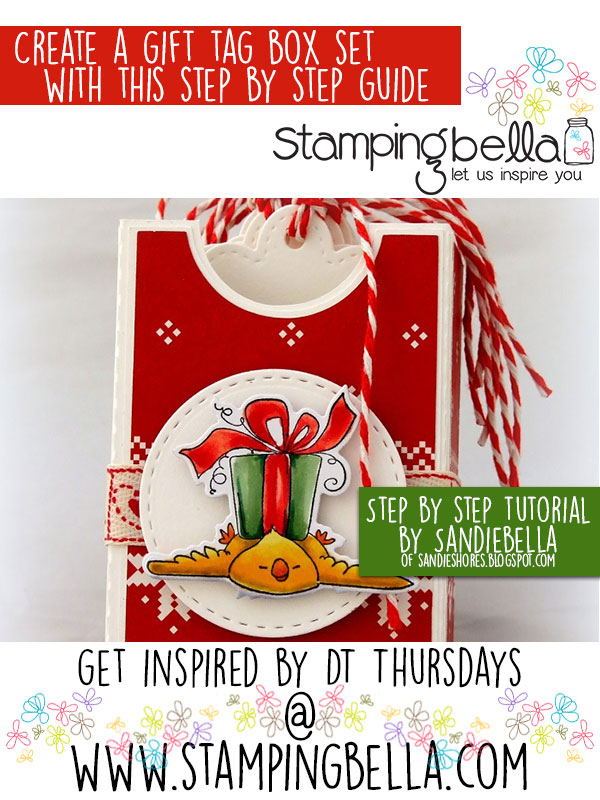 Stamping Bella DT Thursday: Gift Tag Box Set Tutorial. Click through for the full step by step and a free Silhouette Studio file!