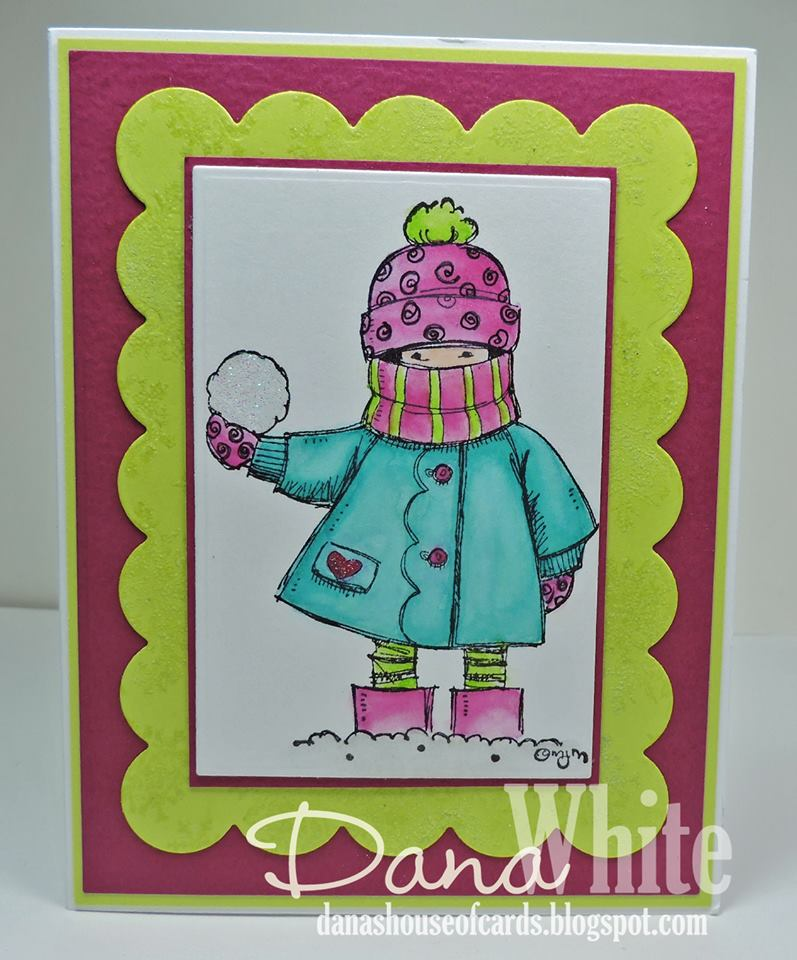 Bellarific Friday NOVEMBER 18th on Stamping Bella Blog-VALERIE WITH SNOWBALL RUBBER STAMP