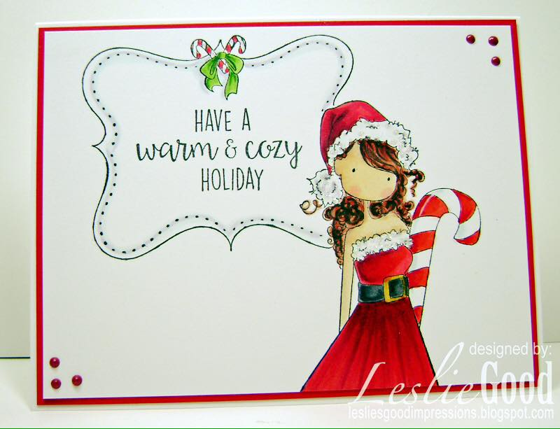 Bellarific Friday challenge Dec 2nd 2016- UPTOWN GIRL CHRYSTAL'S CHRISTMAS LABEL