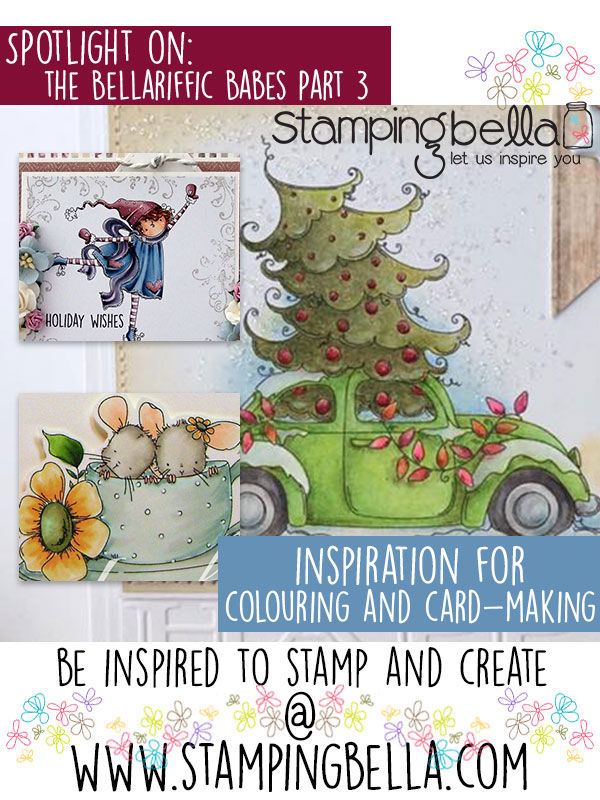 Stamping Bella Spotlight On The Bellariffic Babes Part 3. Click through for inspiration from the team!