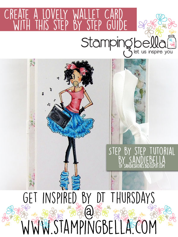 Stamping Bella: Wallet Card Step by Step Tutorial by Sandiebella!