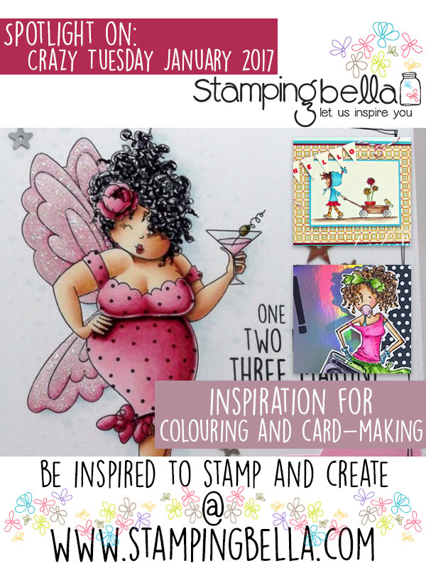 Spotlight On January 2017 Crazy Tuesday Offers at Stamping Bella!