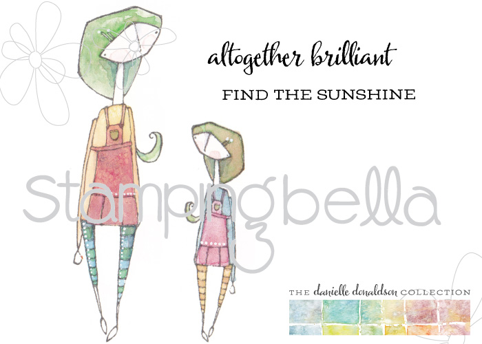 Stamping Bella rubber stamps featuring the Danielle Donaldson collection-ALTOGETHEREVELYN rubber stamp