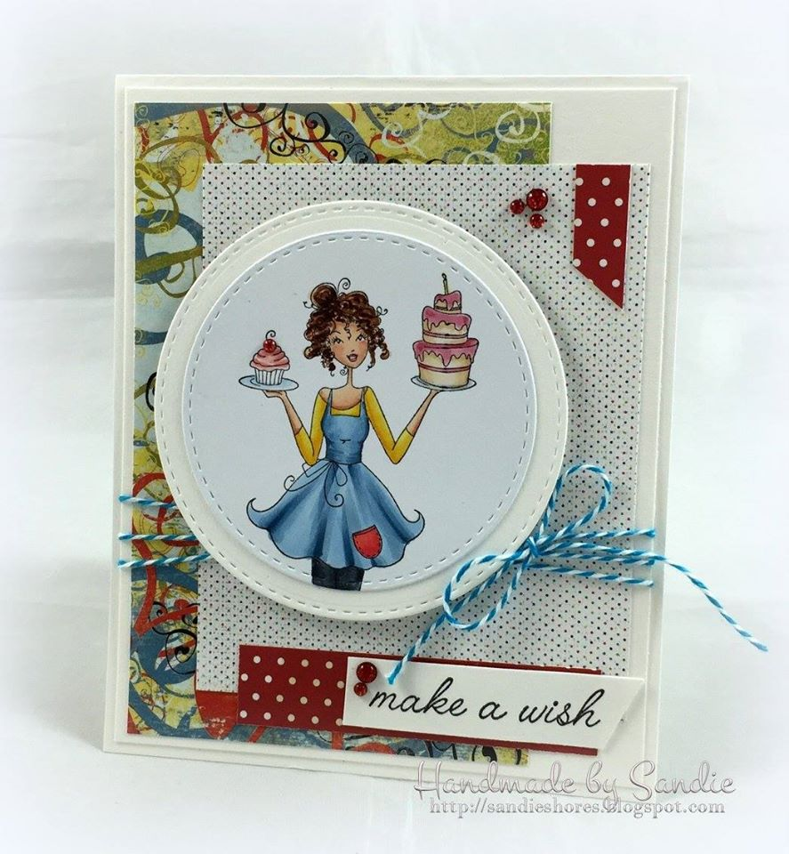 Bellarific Friday challenge Jan. 13th 2017-MOJOBELLA CARD SKETCH-CAKEABELLA card by Sandie Dunne