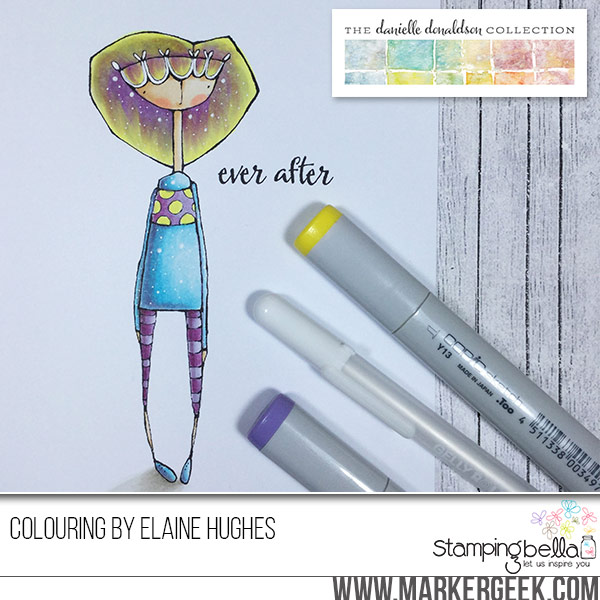Danielle Donaldson rubber stamps for Stamping Bella-everanne colored by ELAINE Hughes