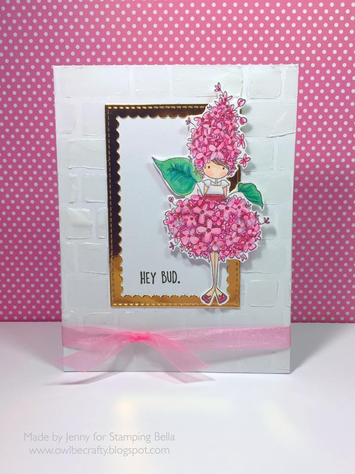 Bellarific Friday January 27th 2017-PHOTO INSPIRATION CHALLENGE- Tiny Townie Garden Girl Lilac by Jenny Bordeaux