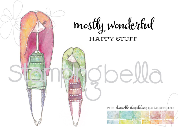 Danielle Donaldson new range of rubber stamps by STAMPINGBELLA- mostlynaomi