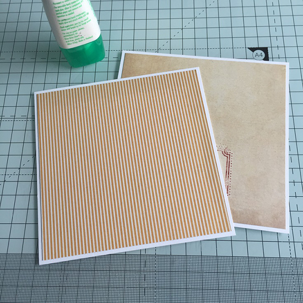 Stamping Bella DT Thursday - Create a Side Easel Card with Sandiebella! Click through for the step by step guide.