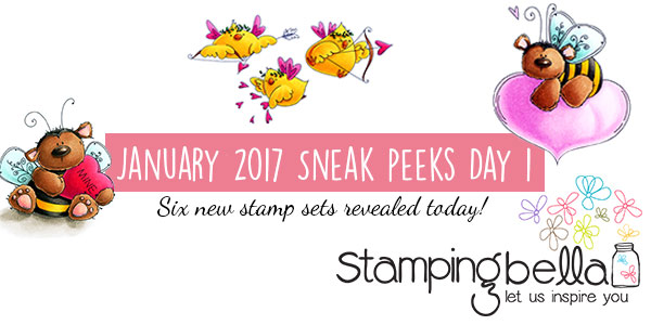 Stamping Bella January 2017 Release Peeks Day 1 - Click through for the full post!