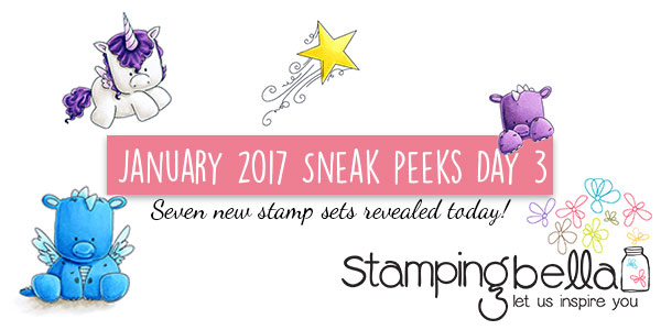 Stamping Bella January 2017 Release Peeks Day 3 - Click through for the full post!