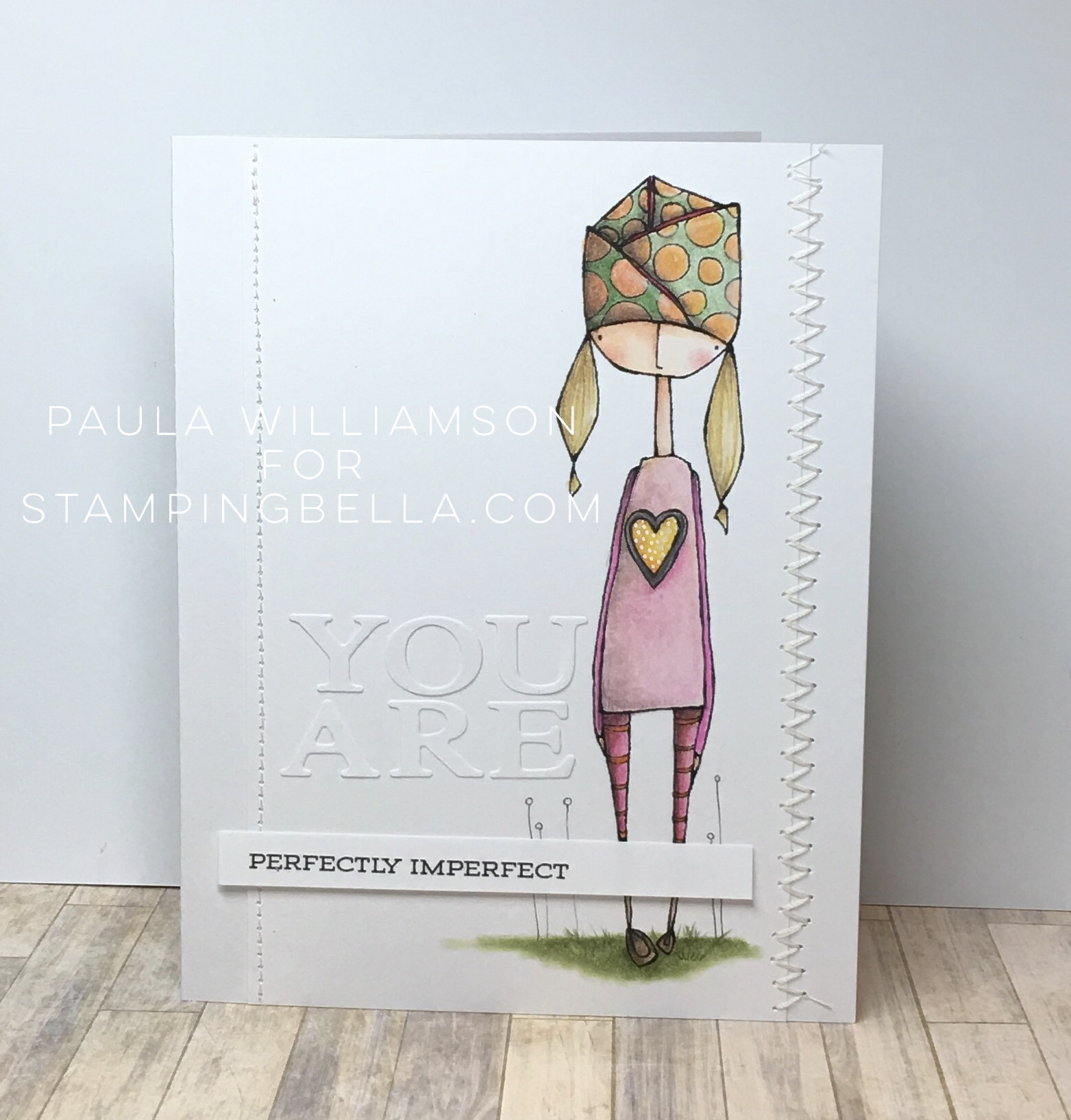 Danielle Donaldson Rubber Stamps by Stamping Bella-UNTILOLIVE card by Paula Williamson