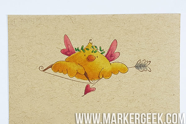 Marker Geek Monday - Colouring on Kraft using Copic Markers. Click through for examples and tips!