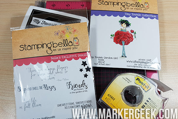 Stamping Bella Stamp It Saturday - Get Sentimental! Tips for getting the most from your sentiment stamps.