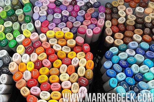 Marker Geek Monday - Copic Basics Part 1