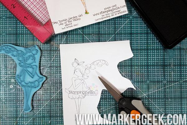 Stamping Bella Stamp It Saturday - Stamping & Masking with Elaineabella.
