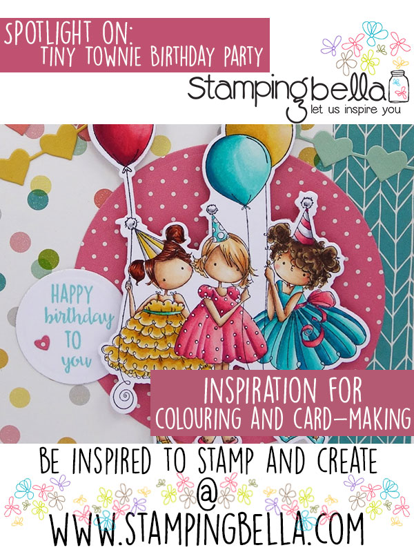 Stamping bella Spotlight On Tiny Townie Birthday Party,