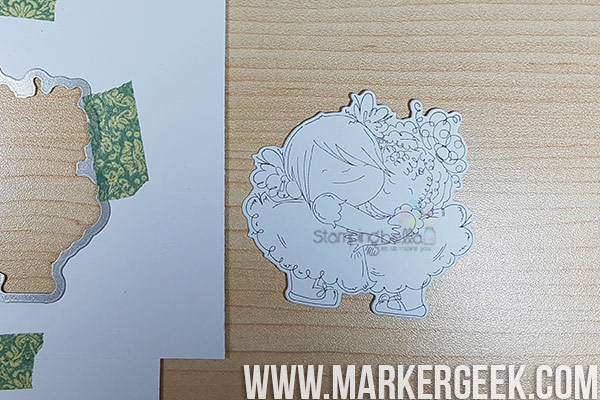 Stamping Bella Stamp It Saturday: Using Coordinating Cut it Out Dies!