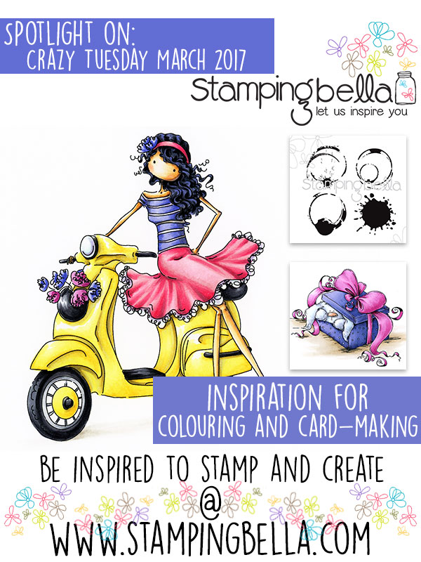 Stamping Bella Spotlight On Crazy Tuesday Offers March 2017