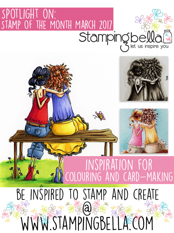 Stamping Bella Spotlight on Uptown Girls Belinda and Bernadette