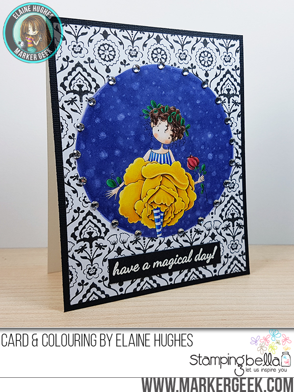 Stamping Bella - Stamp It Saturday - More Fun with Masking & Stamping!