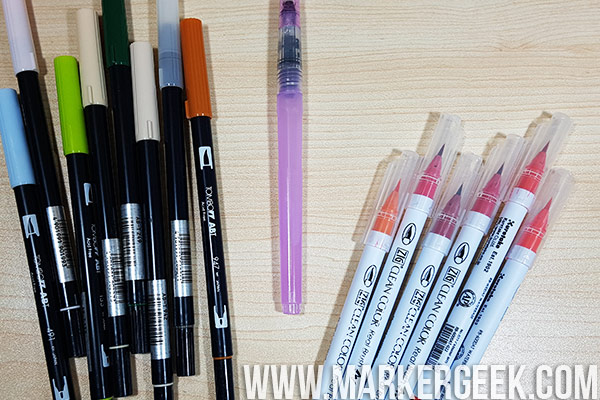 Stamping Bella Marker Geek Monday - Colouring Mediums for Colouring Stamps!