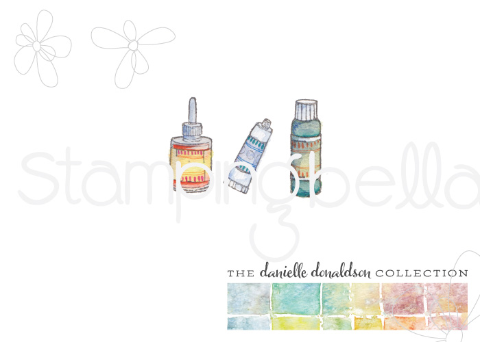 Danielle's SWATCH KIT-PAINT AND INK MINI
