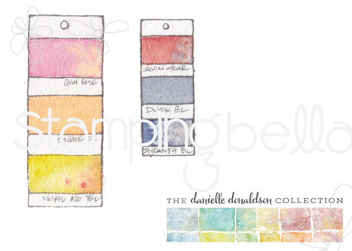 Danielle's SWATCH KIT-PAINT CHIPS