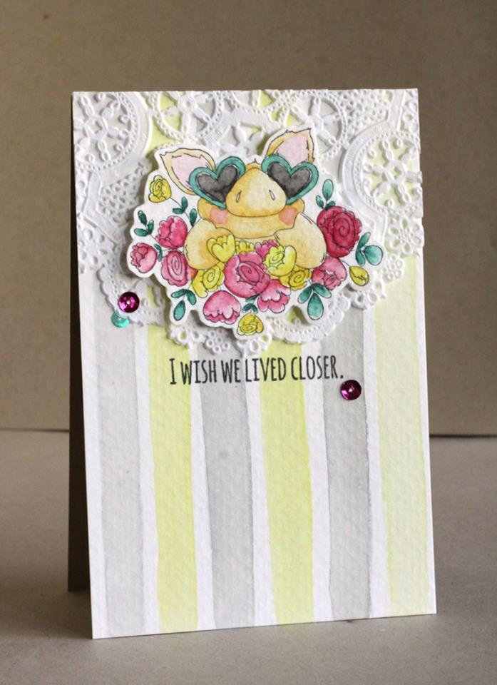 Bellarific Friday INSPIRATION PHOTO CHALLENGE- RUBBER STAMP USED: PETUNIA'S IN LOVE, CARD MADE BY ALICE WERTZ