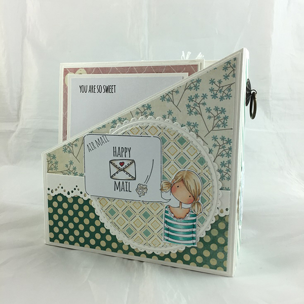 Stamping Bella - DT Thursday - Create Magazine Style Card Holders with Sandiebella!