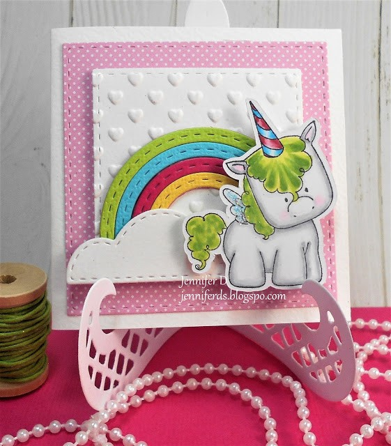 Wonderful Wednesdays with Stamping Bella- SET OF UNICORNS CARDS BY JENNY DIX