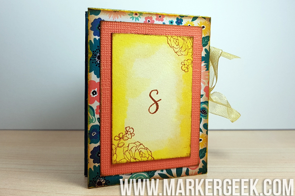 Stamping Bella Stamp It Saturday - Succulent Chick Star Book with Elaineabella