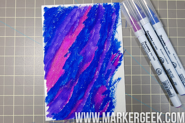 Stamping Bella Marker Geek Monday - Zig Clean Color Real Brush Pen Backgrounds