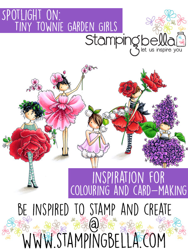 Stamping Bella Spotlight On Tiny Townie Garden Girls Part 1