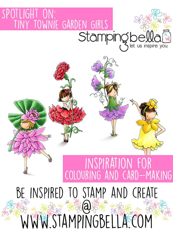 Stamping Bella Spotlight On Tiny Townie Garden Girls Part 2
