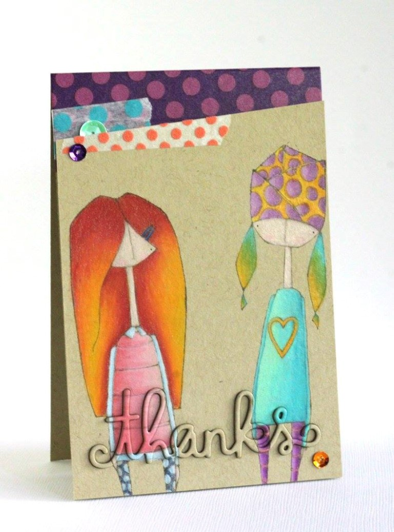 It's BELLARIFIC FRIDAY May 19th 2017-rubber stamp used MOSTLYNAOMI and UNTILOLIVE, card made by ALICE WERTZ