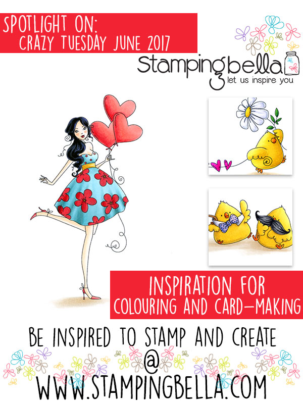 Stamping Bella Spotlight On June 2017 Crazy Tuesday Offers
