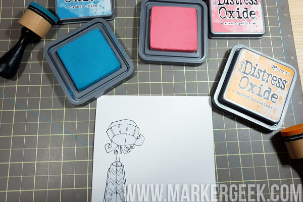 Stamping Bella Stamp It Saturday: Create a Bold Look with Bright Backgrounds & Uncoloured Images!