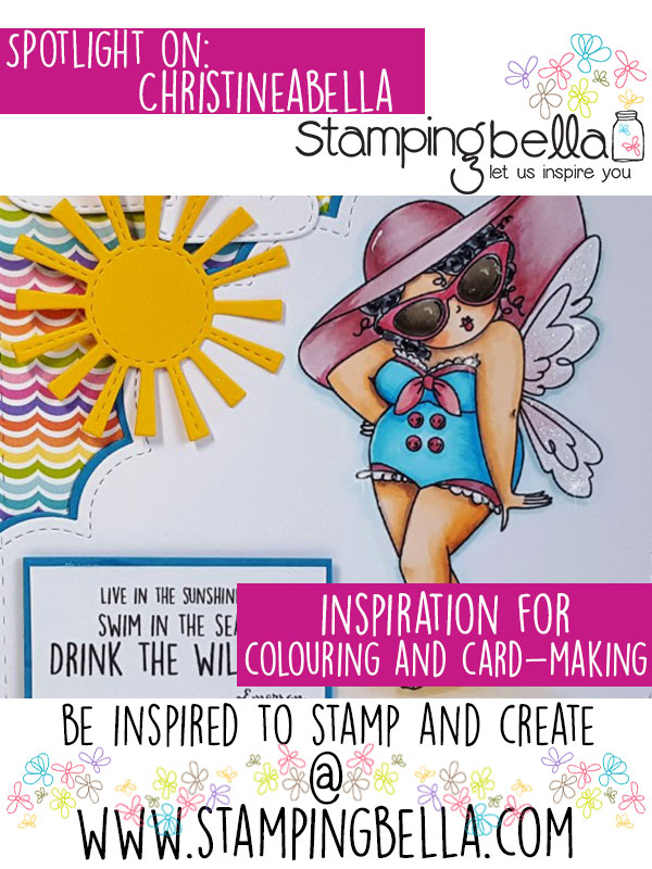 Stamping Bella Spotlight On Christineabella