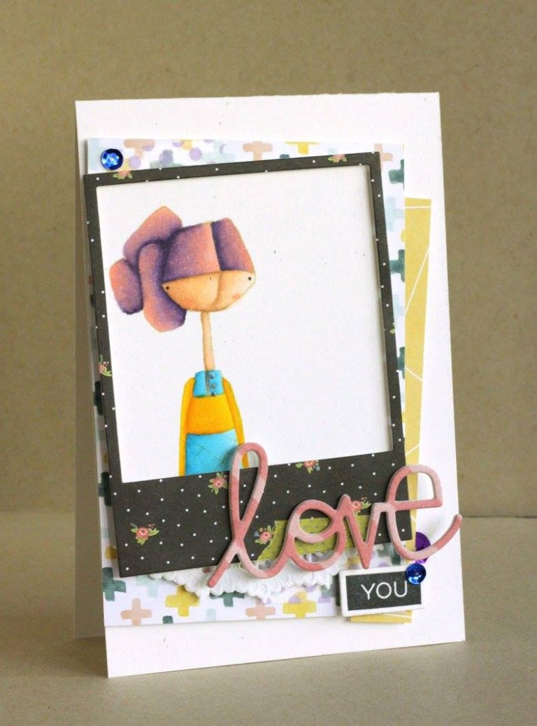Bellarific Friday with Stamping Bella!- Rubber stamp used: ALMOSTELLA.  card by Alice Wertz