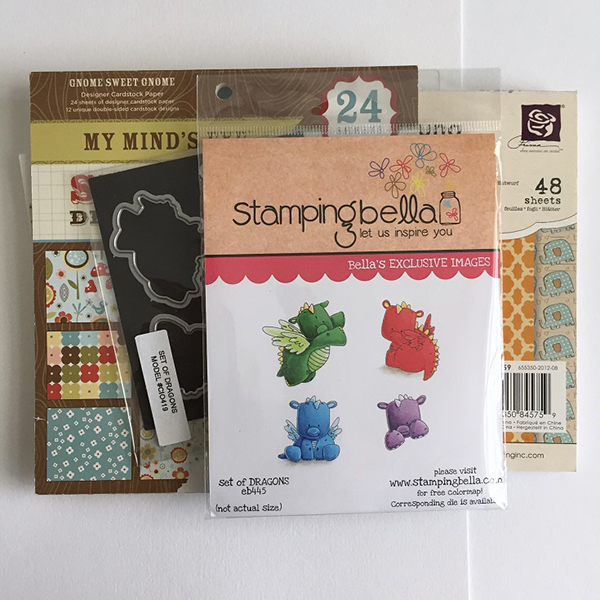 Stamping Bella - DT Thursday - Create a Carousel Card with Sandiebella!