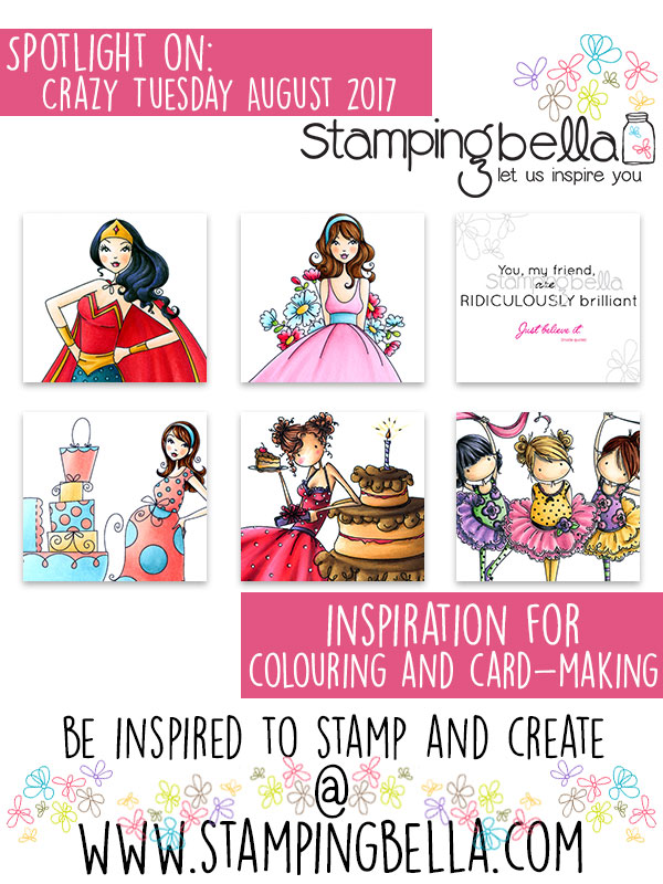 Stamping Bella Spotlight On August 2017 Crazy Tuesday Offers
