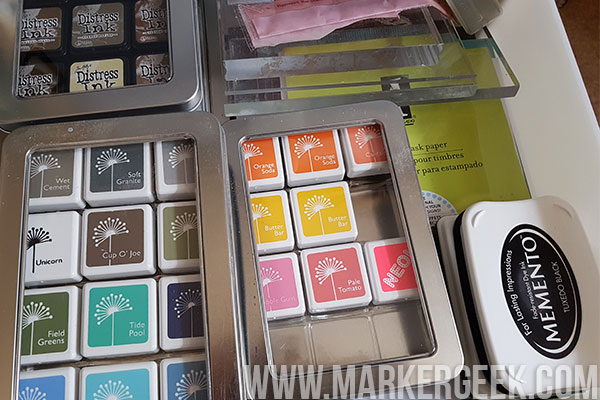 ... Ink Mini storage tins which hold the mini size of Distress Ink pads. I use these for both my Distress Ink collection and other mini cube size ink pads ... & Stamp It Saturday: Ink Pad Storage | stamping bella