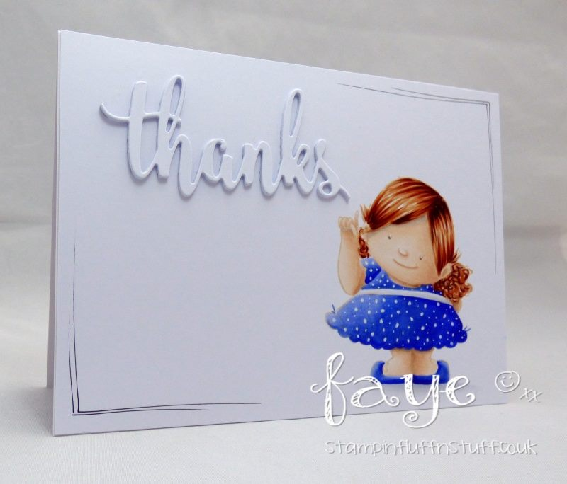 bellarific friday with Stamping Bella AUG 18 2017- rubber stamp used: BIG IDEA SQUIDGY, card by FAYE WYNN JONES