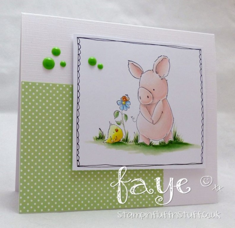 Bellarific Friday with Stamping Bella- rubber stamp used:  ESPECIALLY FOR YOU PETUNIA, card made by FAYE WYNN JONES