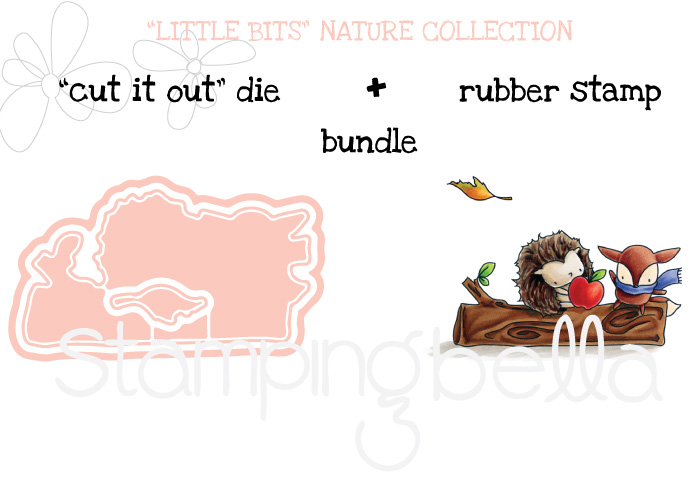 Stamping Bella SNEAK PEEK DAY 2 : THE LITTLES HEDGIE and FOXY BUNDLE